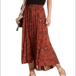 Melrose and Market Boho Maxi Skirt Size M NWT